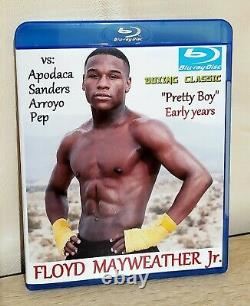 Floyd Mayweather Jr. Collection De Boxe Sur Blu-ray. 25 Combats. 12 Disques Blu-ray