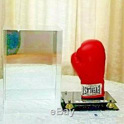 Floyd Mayweather Jr. Et Conor Mcgregor Signé Gant De Boxe The Money Lutte Withcoa