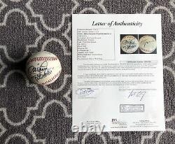 Floyd Mayweather Jr Et Manny Pacquiao Signé Baseball Auto Rare Boxe Jsa Coa