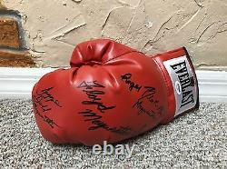 Floyd Mayweather Jr Famille Signé Boxe Glove Signiert Tmt Psa / Adn Coa Loa