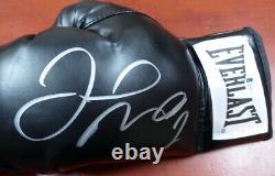 Floyd Mayweather Jr. Gants De Boxe Everlast Noir Autographiés Lh Beckett 121798