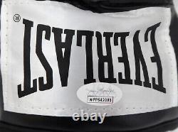 Floyd Mayweather Jr. Gants De Boxe Everlast Noir Autographiés Lh Jsa 178335