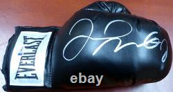 Floyd Mayweather Jr. Gants De Boxe Everlast Noir Autographiés Rh Beckett 121797