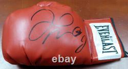 Floyd Mayweather Jr. Gants De Boxe Red Everlast Autographiés Lh Beckett 121799
