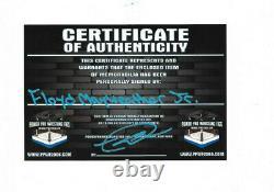 Floyd Mayweather Jr Main Signée Gant De Boxe Autographié Avec Exact Pic Proof 3