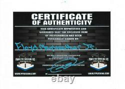Floyd Mayweather Jr Main Signée Troncs De Boxe Autographiés Avec La Preuve Et Coa 3