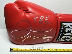 Floyd Mayweather Jr Signé 21 Géant De Boxe Cleto Reyes Gant Tbe Bas Wd96516