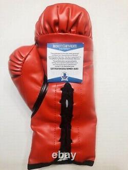 Floyd Mayweather Jr. Signé Auto Tbe Everlast Glove Bas (beckett) Certificat