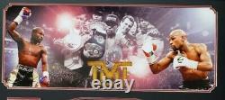 Floyd Mayweather Jr. Signé Autographié Wba Boxing Belt Frame. Beckett Témoin