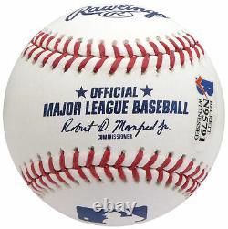 Floyd Mayweather Jr. Signé Mlb Baseball Tmt Beckett 159670