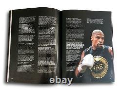 Floyd Mayweather Jr Signé Vs Mcgregor Official Fight Program Autograph Jsa Coa
