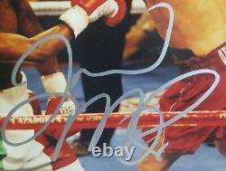 Floyd Mayweather Jr. Vs Oscar De La Hoya Signé Autographié 11x14 Photo. Beckett