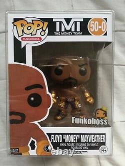 Floyd Mayweather L'équipe De Boxe D'argent Personnalisé Funko Pop Avec Protecteur