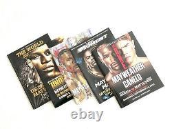Floyd Mayweather Programe Collection Hatton De La Hoya Pacquiao Mcgregor Tmt