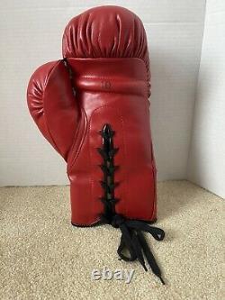Floyd Mayweather Ricky Hatton A Signé Autograph Boxing Glove Jsa Loa Everlast Coa
