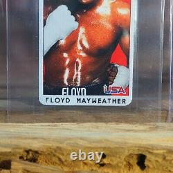 Floyd Mayweather Rookie Rc 1997 Carte De Boxe Au Tabac