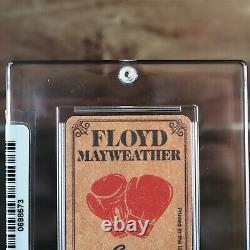 Floyd Mayweather Rookie Rc 1997 Carte De Boxe Au Tabac Sealed