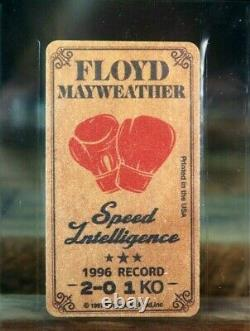 Floyd Mayweather Rookie Rc 1997 Tobacco Boxing Card