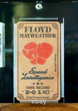Floyd Mayweather Rookie Rc 1997 Tobacco Boxing Card Scellé