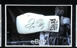 Floyd Mayweather Signé Et Framed Boxe Gant Reyes Tbe Tmt Aftal Coa (j)