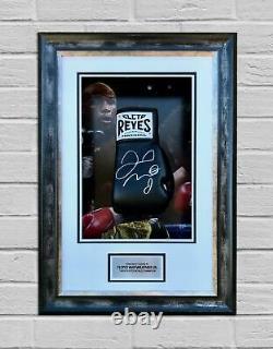 Floyd Mayweather Signé & Framed Boxing Glove Tbe Tmt Aftal Coa (d)