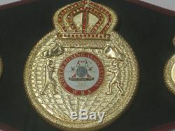 Floyd Mayweather Signé Full Size Boxe Ceinture Bas Wba / Beckett # I69312 Psa Dna