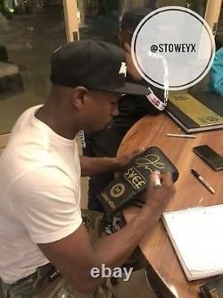 Floyd Mayweather Signé Gant De Boxe Las Vegas Signature Tmt Épreuve Photo