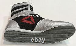 Floyd Mayweather Signé Reebok Chaussures De Boxe Autographe Beckett Témoin Bas Coa