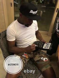 Floyd Mayweather Signé Reyes Gant De Boxe Las Vegas Signature Photo Proof