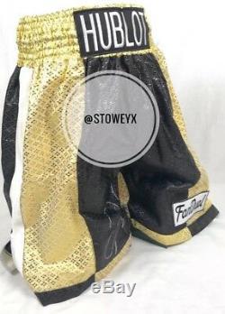 Floyd Mayweather Signé Short De Boxe Shorts V Manny Pacquiao Coa Preuve Photo