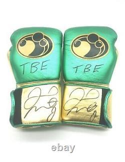 Floyd Mayweather Tmt Signé Glove $ £ ¥ Preuve Photo Signature Privée Tmt C. O.
