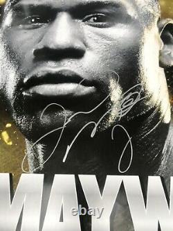Floyd Mayweather V Robert Guerrero, Duel Signé Original Fight Poster