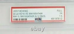Floyd Mayweather Vs Oscar De La Hoya Le Monde Attend Billet 2007, Psa Classé