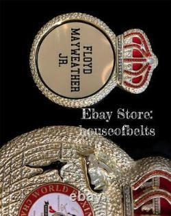 Floyd Mayweather Wba Belt, Ibo, Wbo, Ibf, Wbc Ceintures De Boxe (ceinture Wba La Plus Précise)