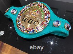 Floyd Mayweather Wbc Champion Du Monde De Boxe Ceinture Commémorative + Case-wba, Wbo, Ibf