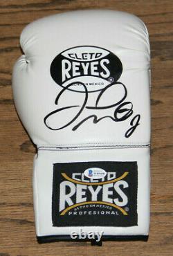 Floyd Money Mayweather Signé Auto Cleto Reyes Boxe Gant Bas Témoin #wd96081