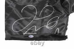 Jr. Floyd Mayweather. Authentique Signée Le 26/500 Trunks De Boxe Bas Wit #p93294
