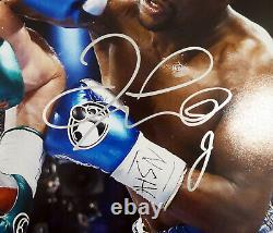 Jr. Floyd Mayweather. Autographié Authentique Signé 16x20 Photo Jsa 178323