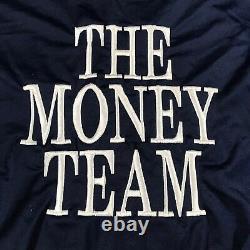 K48 L'équipe De L'argent Tmt Floyd Mayweather Promotions Full Zip Jacket Adulte Large
