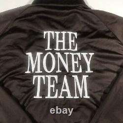 L'équipe De L'argent Tmt Floyd Mayweather Promotions Full Zip Jacket Adulte Large