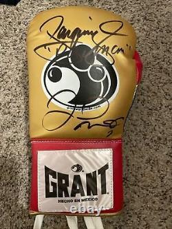 Manny Pacquiao Floyd Mayweather Signé Autographié Grant Gant De Boxe