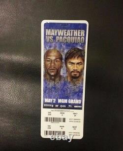 Match De Boxe Floyd Mayweather Billet Stub Vs Manny Pacquiao 02/05/15 Mgm