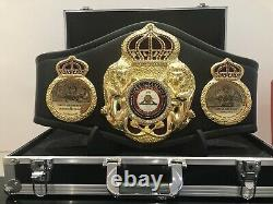 Officiel Wba Super Champion-floyd Mayweather Boxing Belt Duplicate + Case+c. O. Un