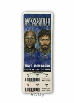 Pacquiao 5/2/15 Billet De Chasse À La Boxe Authentique Floyd Mayweather Vs Manny Pacquiao