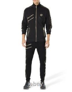Philipp Plein Floyd Mayweather Boxe Tuta Philip Felpa + Pantaloni Costume De Piste Gym