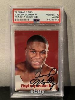 Psa Authentic Floyd Mayweather Signé 2001 Browns 13e Set Bonus Carte De Boxe