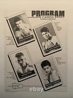 Rare Floyd Mayweather (2-0) Vs Jerry Cooper 1997 Bout Sheet, #49/100