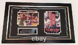 Rare Floyd Mayweather Signé Photo Photo Autograph Display
