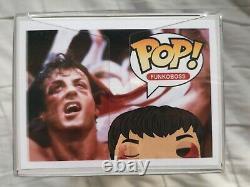 Rocky Balboa Post Fight Funko Pop Personnalisé Avec Le Protecteur