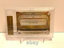 Topps 2017 Triple Threads Floyd Mayweather Relic Autograph Bgs 9.5 9 Auto 07/18